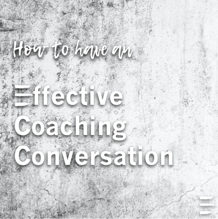 effective coaching conversation training